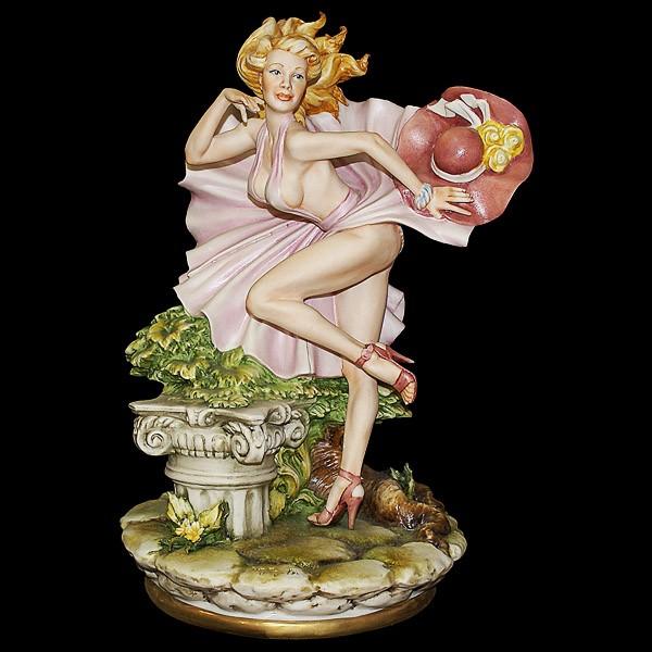 Фарфоровая статуэтка «Модель»