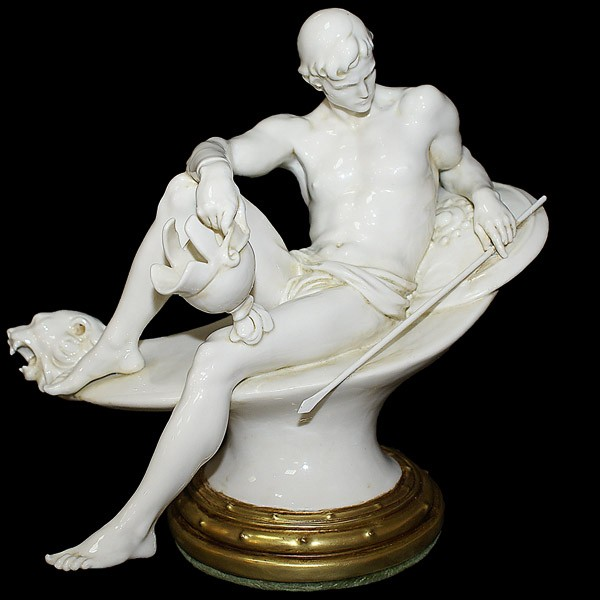 Фарфоровая статуэтка «Война»