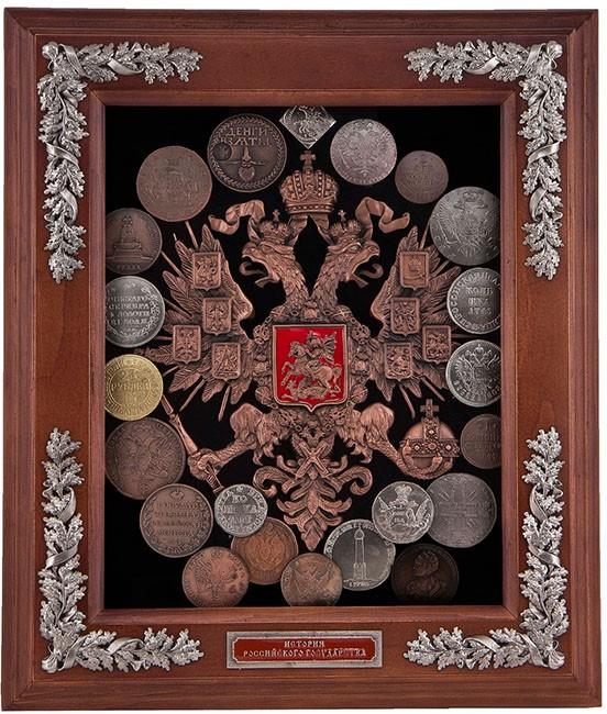 Панно «Старые монеты»
