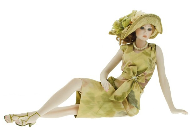 Кукла фарфоровая «Марсель»