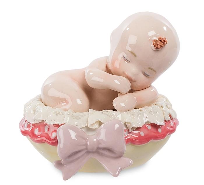 Фарфоровая статуэтка «Малыш девочка»