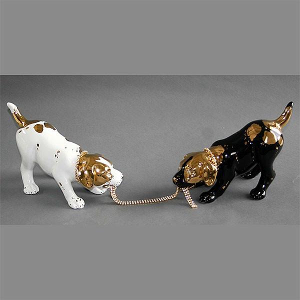 Статуэтка «Два щенка»