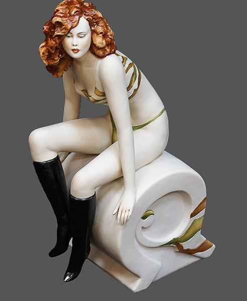 Фарфоровая статуэтка «Изабелла» Porcellane Principe
