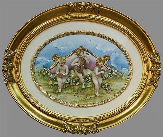 Панно «Ангелы» Porcellane Principe