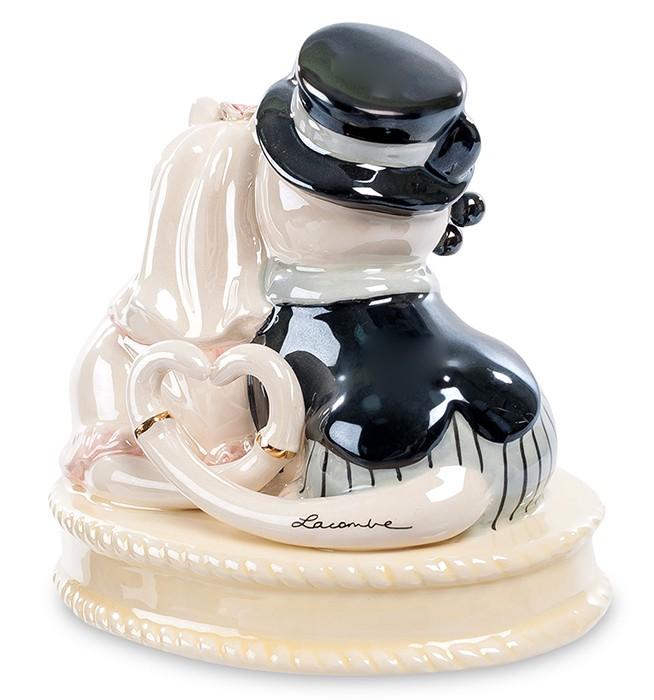 Фарфоровая статуэтка «Влюбленные коты»
