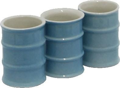 Фляга фарфоровая «Врач» с тремя стаканчиками
