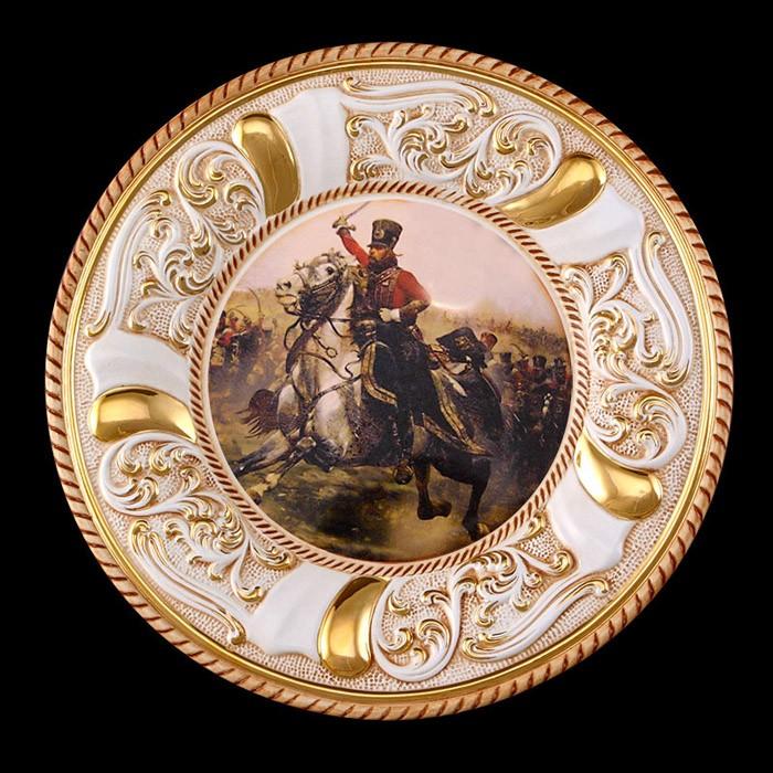 Панно (тарелка на стену) «Война 1812 года»