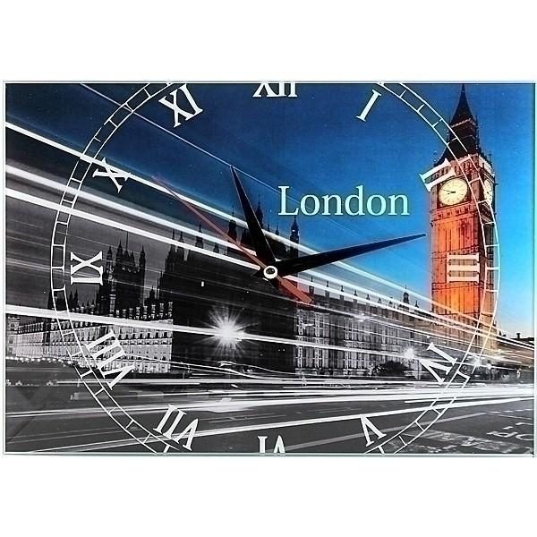 Прикольные настенные часы «Лондон»